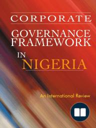 Corporate Governance Framework in Nigeria