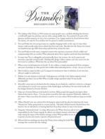 The Dressmaker Discussion Questions for Your Reading Group