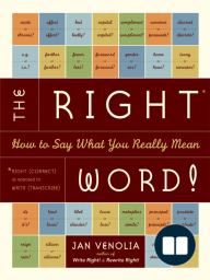 The Right Word!
