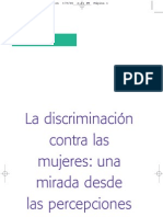 Textos del caracol. 2. La discriminación contra las mujeres