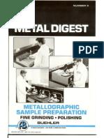 Metal Lo Graphic Sample Preparation - Fine Grinding _Polishing