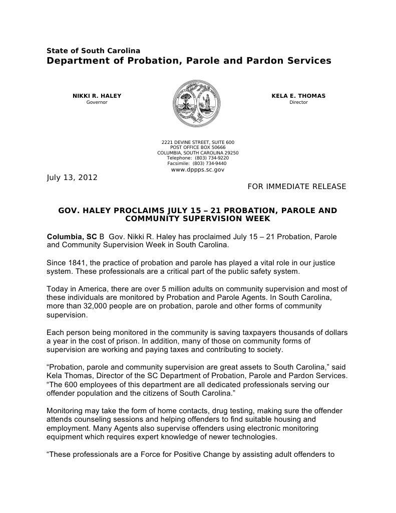 PPP Week 2012 | Probation | Parole