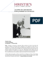 La Galerie De Girardon  Evocation By Hubert De Givenchy