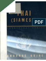 TM 30-331 Thai Language Guide 1944