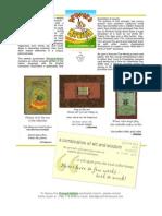 Proverb Nation Sample Sheet