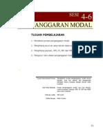 SESI 4-6 PENGANGGARAN MODAL