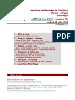 LAMPEA-Doc 2012 – numéro 26 / vendredi 13 juillet 2012