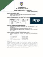 Peraturan Perlombaan Rally & Sprint 2012