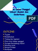 Anatom i Dasar Pang Gul