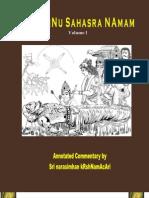 Vishnu Sahasra Naamam Vol 1