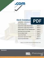 Deck Construction Guide