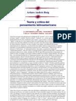 (Arturo Andrés Roig_ Teoría y crítica del pensamiento latinoamericano)