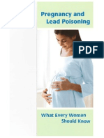Pregnancy and Lead Poisoning