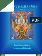 Vishnu Sahasra Naamam Vol 3