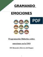 Programción emocional IES Benazaire (Herrera del Duque)