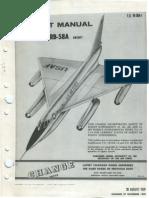Flight Manual B-58A & RB-58A Aircraft (1959)