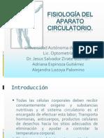 Fisiología del aparato circulatorioadri