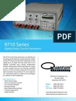 Quantum Composers 9710 Datasheet