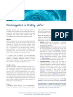 Microorganisms in Drinking Water & Treatment Options