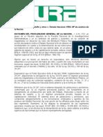 Craviotto Gerardo Adolfo y Otros c Estado Nacional-pen-m de Justicia de La Nacion
