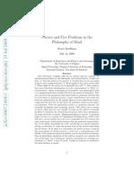 Física y 5 problemas en la filosofía de la mente