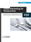 Restaurant - Online Marketing - Video Service
