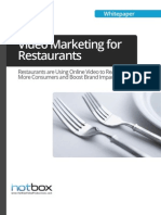 Restaurant - Online Marketing - Video Service