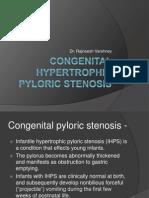 Congenital Hypertrpphic Pyloric Stenosis