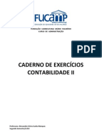 Caderno de Exercicios Contabilidade