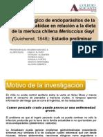 CICLO BIOLOGICO DE ENDOPARÁSITOS DE LA MERLUZA
