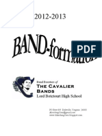 LBHS BAND-formation, 2012