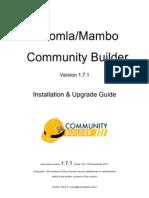 CB1.7.1 Installation Community Builder crear redes sociiales con joomla