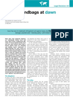 Intellectual Property Magazine (UK; Jul-Aug 2012 issue) - Charles Colman, Gucci America v. Guess Case Study, titled 'Handbags at Dawn' (play on British expression)