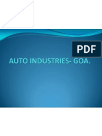 Auto Industries- Goa