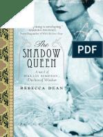 The Shadow Queen by Rebecca Dean - Excerpt