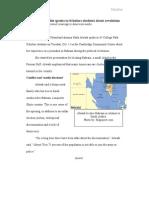 Speech Coverage Writing Sample