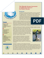 The Wadeable Streams Assessment
