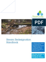 Stream Redesignation Handbook