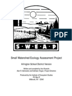Small Watershed Ecology Assessment Project