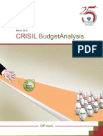 CRISILs Analysis of Budget 2012-13 (First Cut)