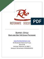 Barbat Mitzvah Packages