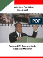 Buku Kiprah Dan Pemikiran Drs Musoli