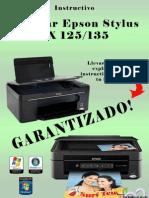 Resetear Contador de Impresora Epson TX125