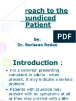 Approach to Jaundice Patient