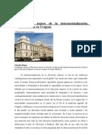 Los agujeros negros de la internacionalización universitaria en Uruguay
