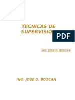 Tecnicas de Supervision - Unidad i, II