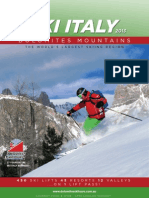 Dolomites Ski Tours 2013 Brochure
