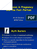 Depression in Pregnancy and Post-Partum