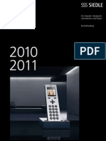 Siedle Bestellkatalog 2010-2011 084515 De