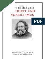 Bakunin - Freiheit Und Sozialismus